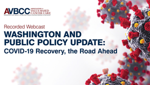 August 13, 2020: Washington and Public Policy Update: COVID-19 Recovery, the Road Ahead