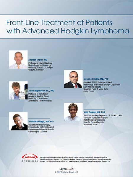 Front-Line Treatment of Patients with Advanced Hodgkin Lymphoma
