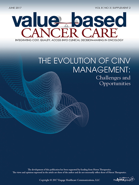 June 2017, Vol 8, No 3, Supplement 2: The Evolution of Chemotherapy-Induced Nausea and Vomiting Management: Challenges and Opportunities